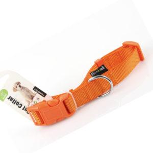 περιλαιμιο σκυλου πορτοκαλι