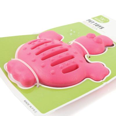 παιχνιδι για σκυλους κροκοδειλος ροζ