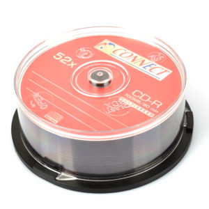 cd-r eggrafis 52x connect
