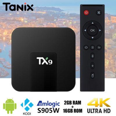 tv box android 2 gb tx9 tanix