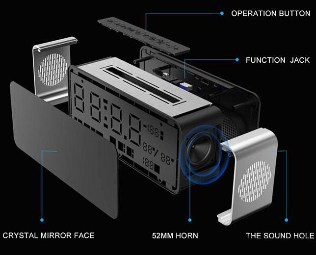 epitrapezio hxeio bluetooth radiofono ksypnitiri