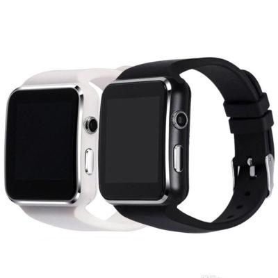 smartwatch x6 me ellhniko menou kai camera