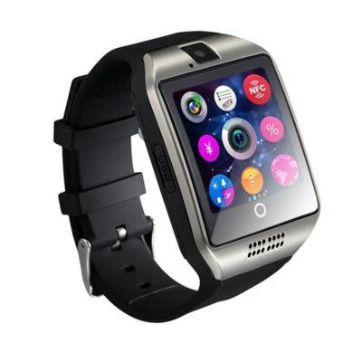 bluetooth smartwatch me ellhniko menou kai sim