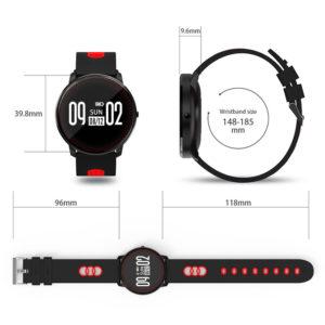 smartwatch activity tracker cf007