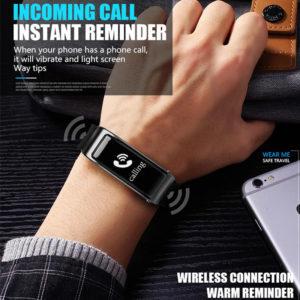 smartwatch me apospomeno akoustiko handsfree bluetooth