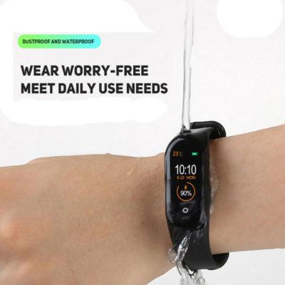 smartwatch me bluetooth metrhths vimaton
