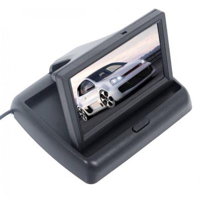 anadiploumeni kamera aytokinhtoy monitor 4.3 intses