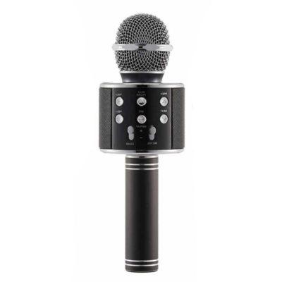 asyrmato mikrofono bluetooth gia karaoke me hxeio