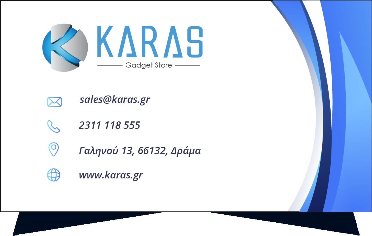 karas business card
