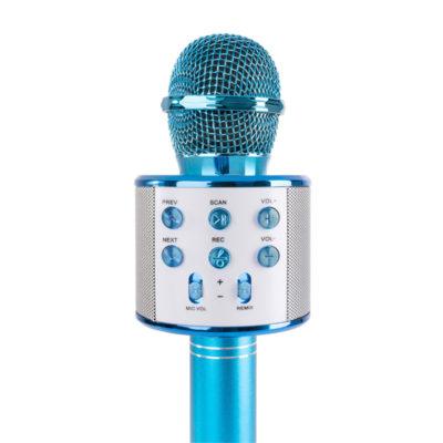 asyrmato mikrofono me ensomatomeno hxeio mple