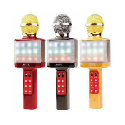 forito aytonomo mikrofono karaoke me ensomatomeno hxeio