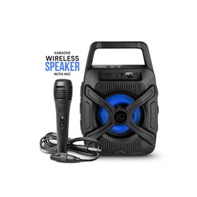 asyrmato hxeio bluetooth me mikrofono gia karaoke
