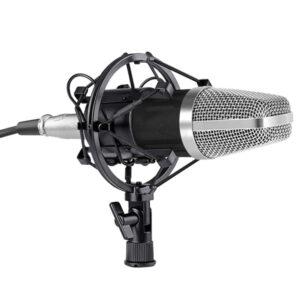 pyknotiko mikrofono hxografisis me vasi