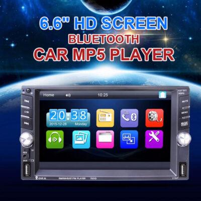 hxosysthma aytokinhtoy 2din me monitor 6,6 intses touch screen