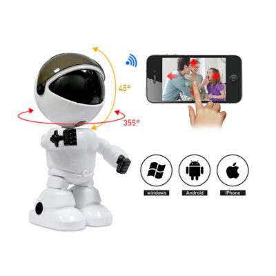 robot kamera me wifi gia parakolouthisi xorou kai xeirismo apomakrysmeno