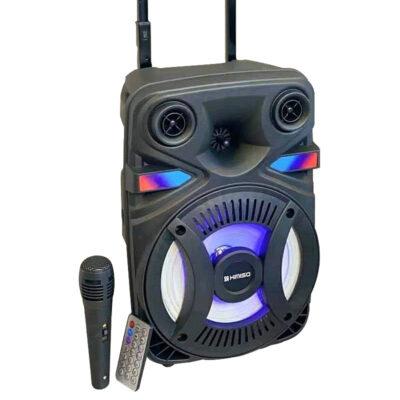 forhto hxeio 1200w me mikrofono gia karaoke