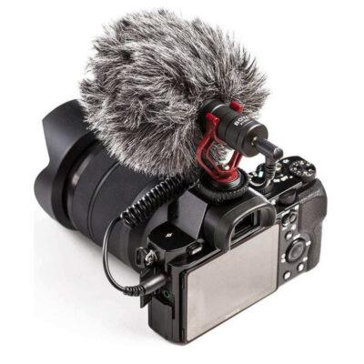 mikrofono gia kameres dslr xoris mpataries