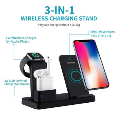 charging dock gia asyrmath fortisi iphone iwatch