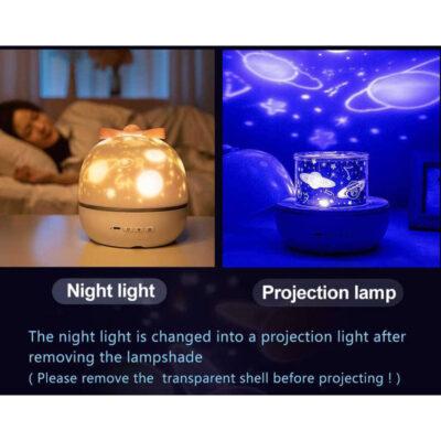 led lampa nyxtos me 6 slides diafora sxedia kai peristrofi