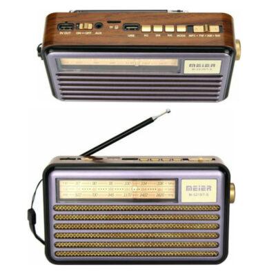 hliako vintage radiofono me thyres usb tf