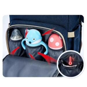 tsanta platis backpack pou ginetai allaxiera me esothermikes tsepes