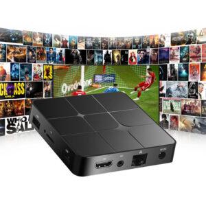 android tv box me 4gb ram kai thlexeiristhrio